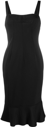 Dolce & Gabbana Pre Owned 1990s Square Neck Dress