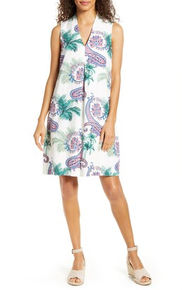 Tommy Bahama Bombaisley Print Shift Dress