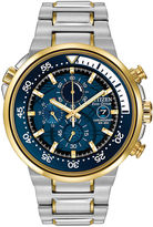 Citizen Eco-Drive Endeavor Mens Two-Tone Chronograph Watch CA0444-50L