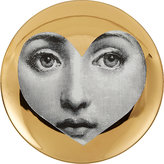 "Fornasetti Heart Shape Face"" Plate"