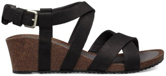 L.L. Bean Women's Teva Mahonia Wedge Cross Strap