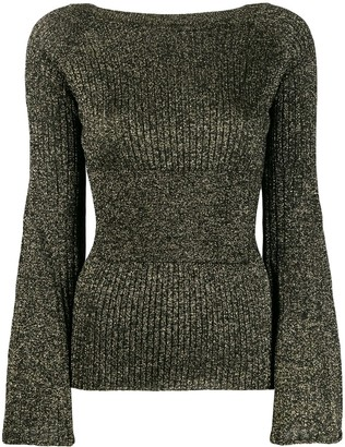 Pinko boat neck sweater