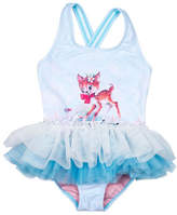 Rock Your Kid Doe A Deer SS One Piece With Skirt (Girls 3-8 Yrs)