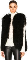 Pam & Gela Mongolian Fur Vest