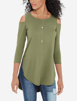 The Limited Cold Shoulder Tunic