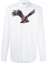 Neil Barrett eagle print shirt