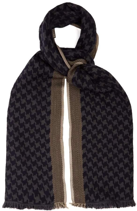 Giorgio Armani Wool-blend scarf