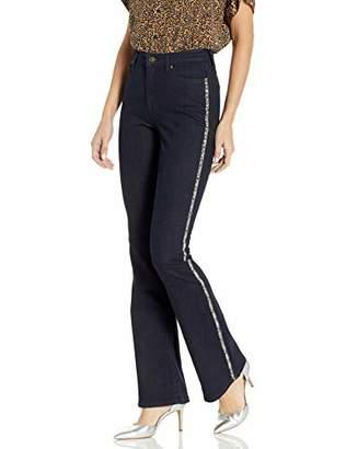 Ella Moss Women's High Rise Flare Jean