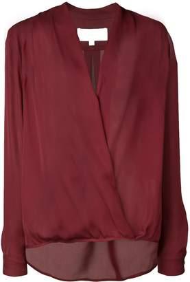 Mason by Michelle Mason wrap V-neck blouse