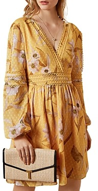Ted Baker Posyy Printed Mini Dress