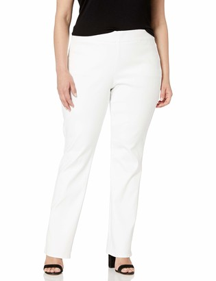 NYDJ Women's Plus Size Pull ON Straight Jean