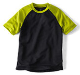 Classic Little Boys Raglan Active Tee-Dark Bay Blue Sun