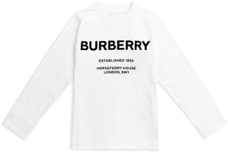 Burberry Kids Horseferry Print Logo T-Shirt (3-12 Years)
