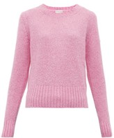 Moncler Logo-patch Sweater - Womens - Pink