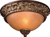 Minka Lavery Minka-Lavery ML 958 Tuscan Flushmount Ceiling Fixture from the Belcaro Collection, Belcaro Walnut