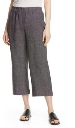 Eileen Fisher Crop Straight Leg Pants