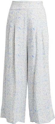 Agua Bendita Agua By Vanilla Linen Wide Leg Pants