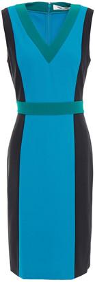 Diane von Furstenberg Arbor Color-block Stretch-jersey Dress