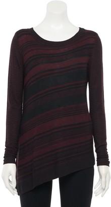 Apt. 9 Women's Asymmetrical Pullover Sweater