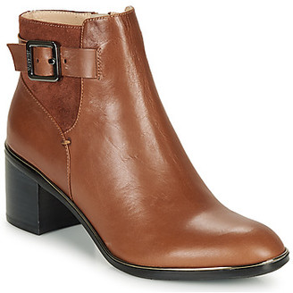 JB Martin BLASCO women's Low Ankle Boots in Brown