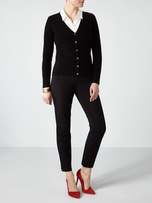Pure Collection V-Neck Cashmere Cardigan