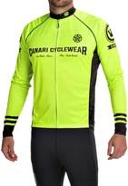 Canari Theon Cycling Jersey - UPF 30+, Full Zip, Long Sleeve (For Men)