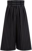 J.W.Anderson pinstripe culottes - women - Acrylic/Polyester/Wool - 6