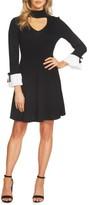 CeCe Women's Choker Sweater Dress