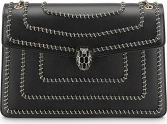 Bvlgari Leather Serpenti Forever Chain Shoulder Bag