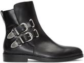 Toga Virilis Black Buckled Chelsea Boots