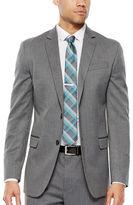 Jf J.Ferrar JF Gray Herringbone Stretch Suit Jacket - Slim Fit
