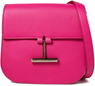Tom Ford Pebbled-leather Shoulder Bag