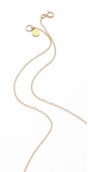 Gorjana Cross Lariat Necklace