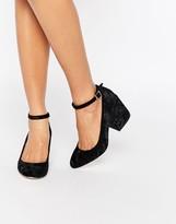 Asos SWEET Velvet Heels