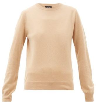 A.P.C. Nola Cashmere Sweater - Womens - Beige