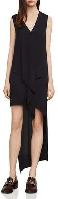 BCBGMAXAZRIA Tara Cascade Essential Ruffle Dress