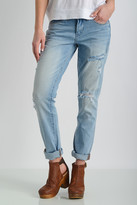 Blank Relaxed Lightweight Ripped Tomboy Jeans