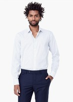 Mango Outlet Classic-Fit Tailored Bengal-Stripe Shirt