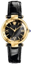 Versace Women's Revive Leather Strap Watch, 35Mm
