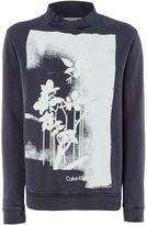 Calvin Klein Men's HIDDE Long Sleeve Sweatshirt