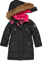 Weatherproof Heavyweight Pattern Puffer Jacket - Girls-Big Kid