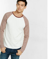 Express double knit baseball tee