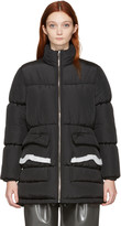 MM6 MAISON MARGIELA Black Puffer Coat