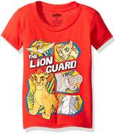 Disney Boys' Toddler Boys' the Lion Guard Group Short Sleeve Tee