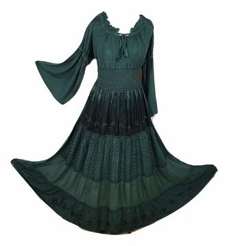Doorwaytofashion Ladies Empire Waist Dress (Purple)
