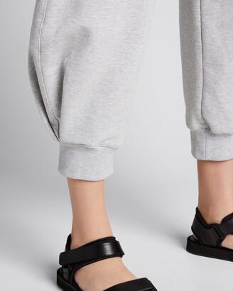 Tibi Sculpted Cropped Sweatpants