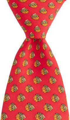 Vineyard Vines Chicago Blackhawks Logo Boys Tie