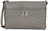 Karl Lagerfeld Paris Quilted Leather Crossbody Bag
