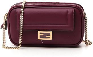 Fendi Easy 2 Baguette Mini Shoulder Bag