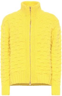 See by Chloe Zip-front alpaca-blend sweater